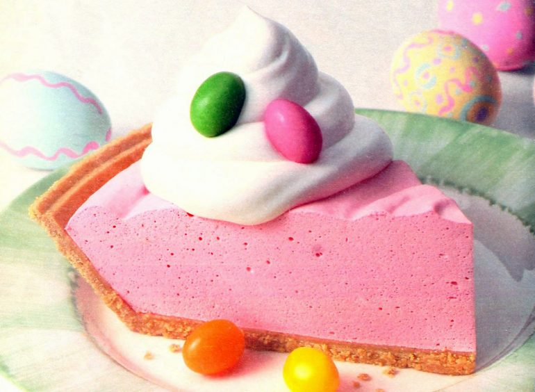 Retro recipe Cool n easy Easter pie (1996)