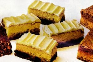 Retro recipes Pumpkin bars, Coconut choco-swirl cake Date bar cake