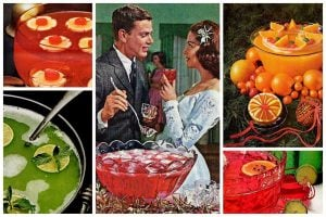 Retro recipes for fruity tart sparkling holiday punch
