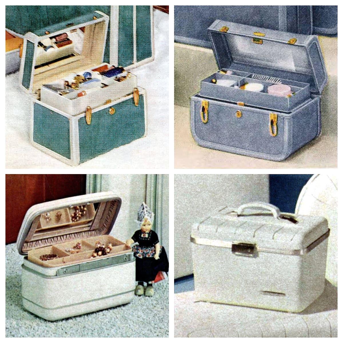 Retro sixties train - beauty case styles (1963)