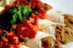 Retro southwestern recipe for ranchers rollups