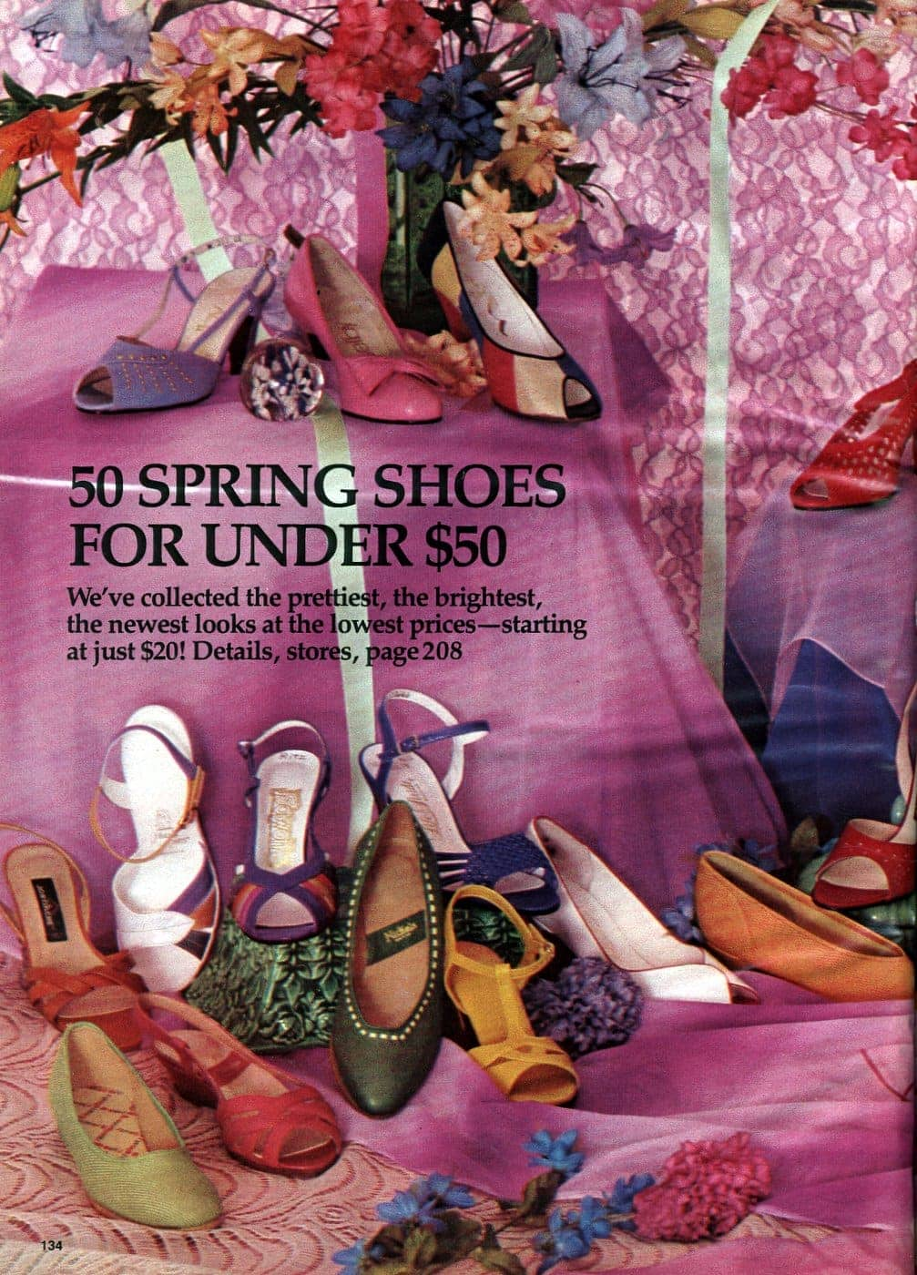 Retro spring shoes from the 80s - 1982 (1)