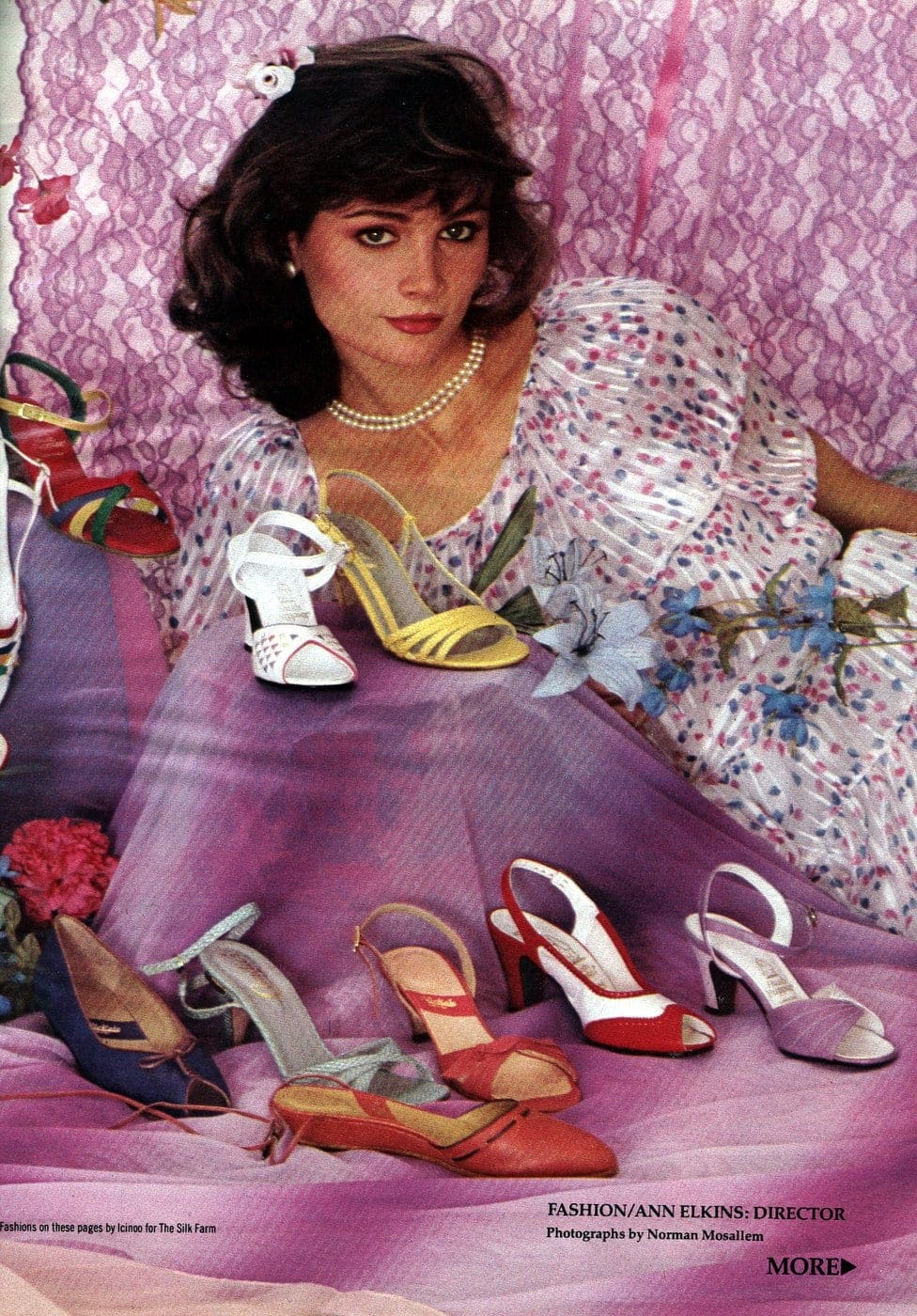 Retro spring shoes from the 80s - 1982 (2)