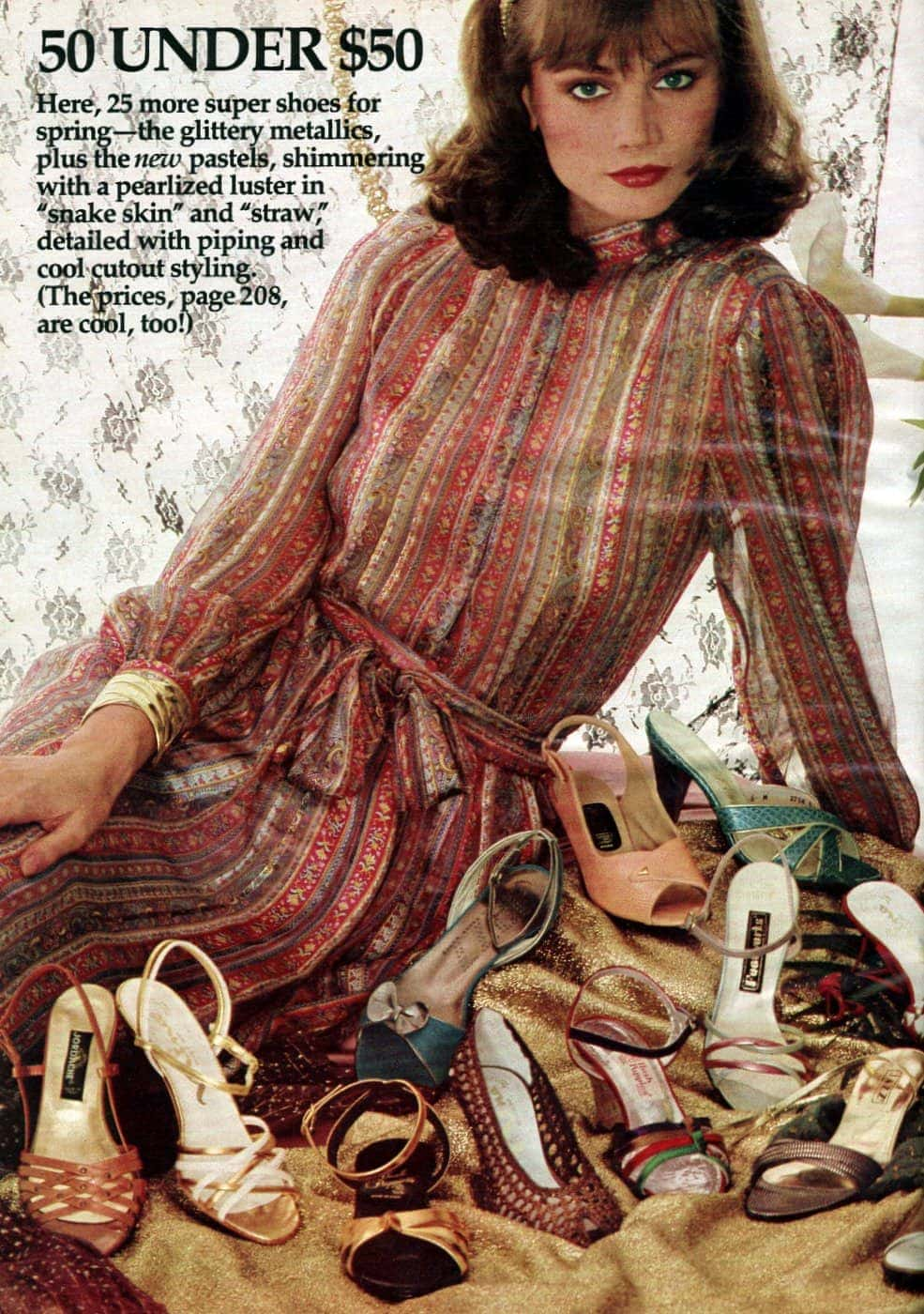 Retro spring shoes from the 80s - 1982 (3)