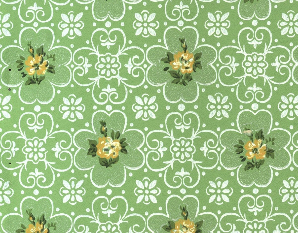 Groovy Walls! 25 Vintage Wallpaper Samples From 1963