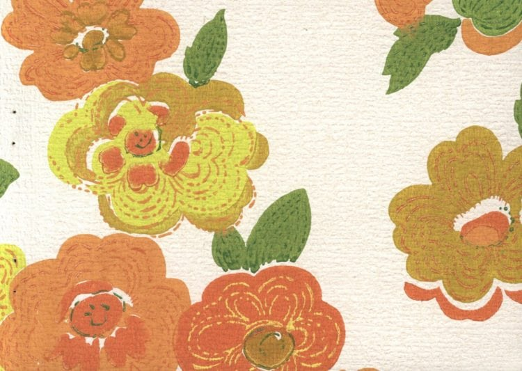 mid-century wallpapers from the '60s