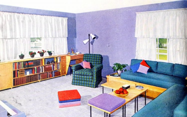 Retro window covering home style from 1953 (3)
