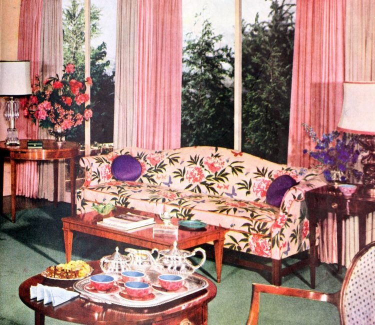 Retro window covering home style from 1953 (4)
