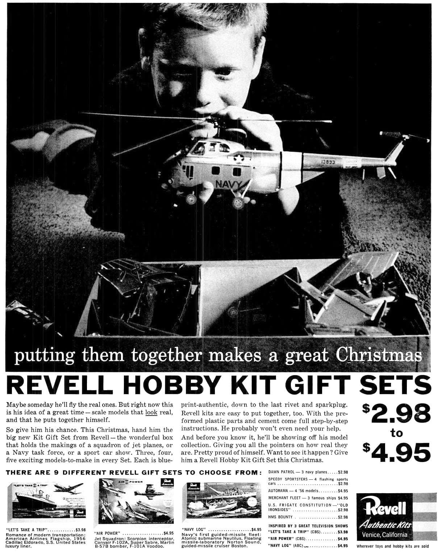Revell models - Hobby sets (1956
