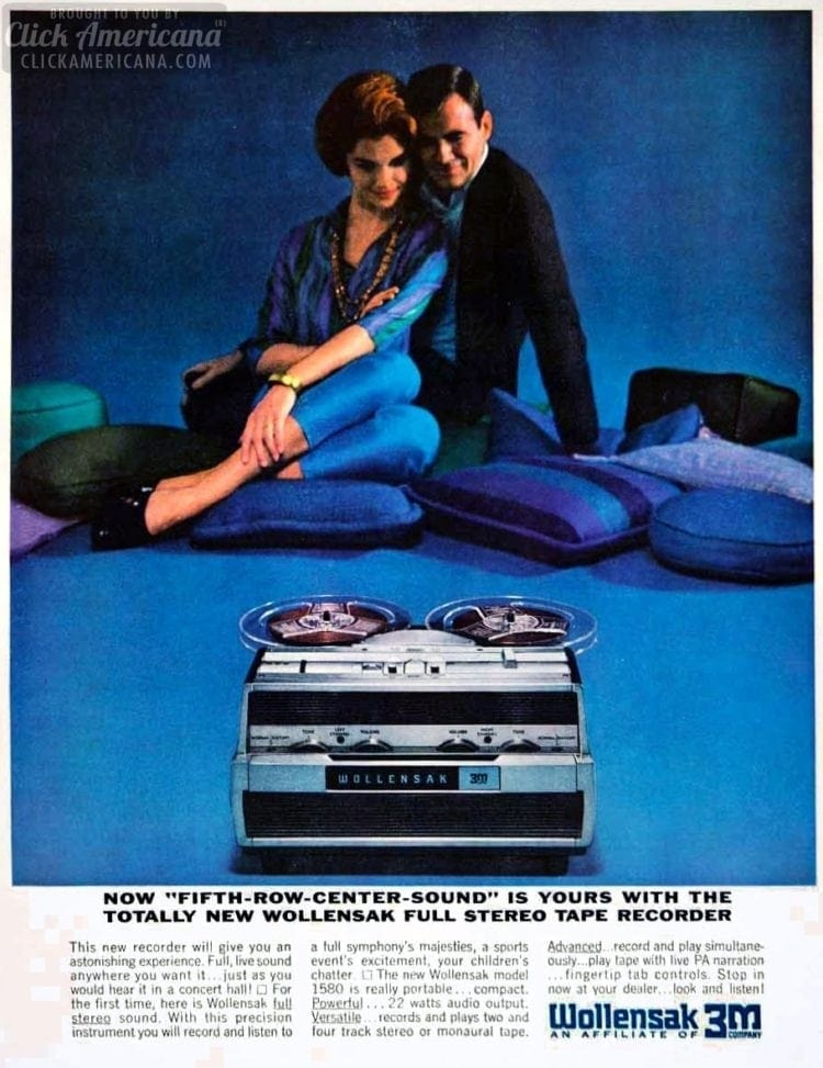 Getting real with vintage reel-to-reel tape recorders - Click Americana