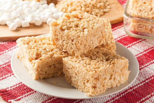 Rice Krispies treats - bar dessert vintage recipe