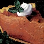 Rich and creamy chocolate mint pie recipe - 1985