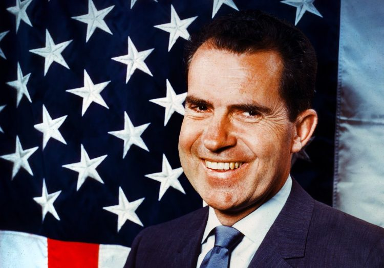 Richard Nixon c1960 candidate for president