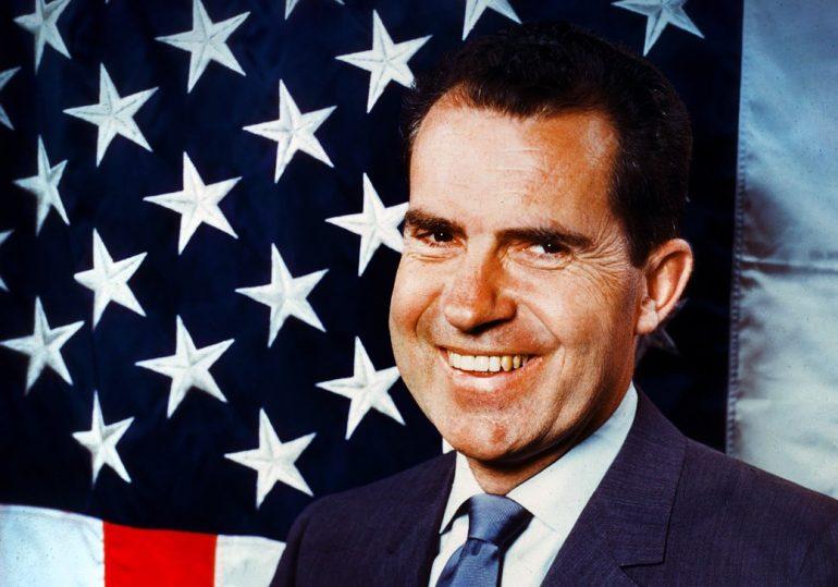 Richard Nixon c1960 candidate for president