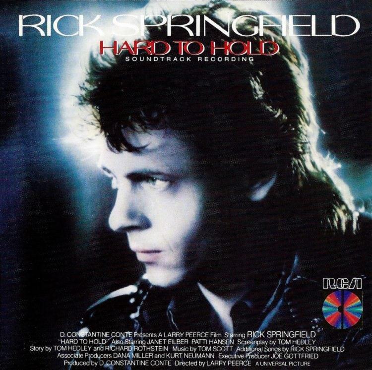 Rick Springfield hard to hold (1984)