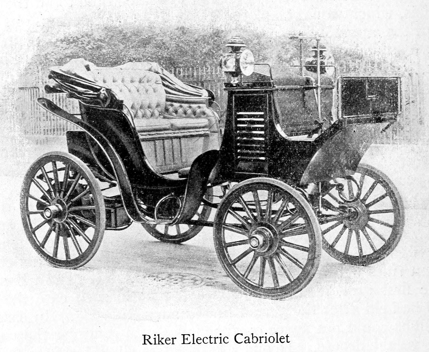 Riker electric Cabriolet (1899)