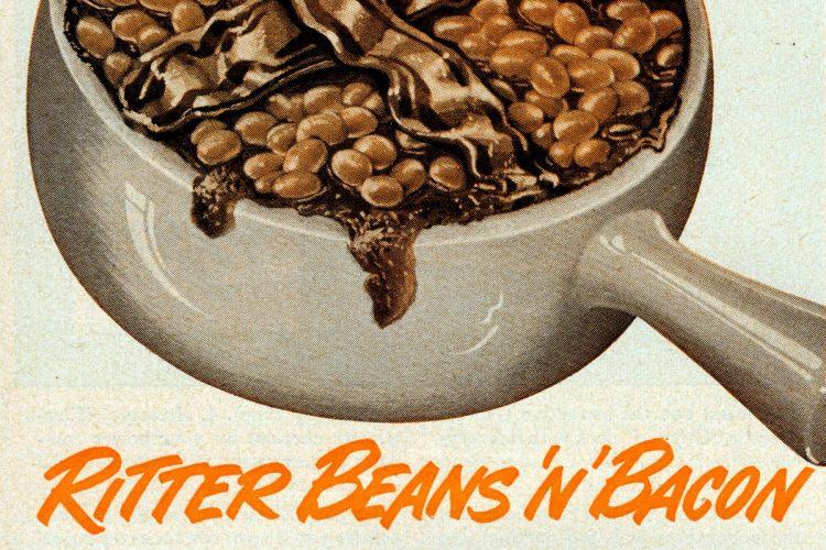 Ritter baked beans 'n' bacon (1950)