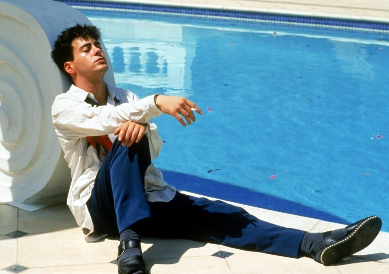 Robert Downey Jr in Less Than Zero - 1987