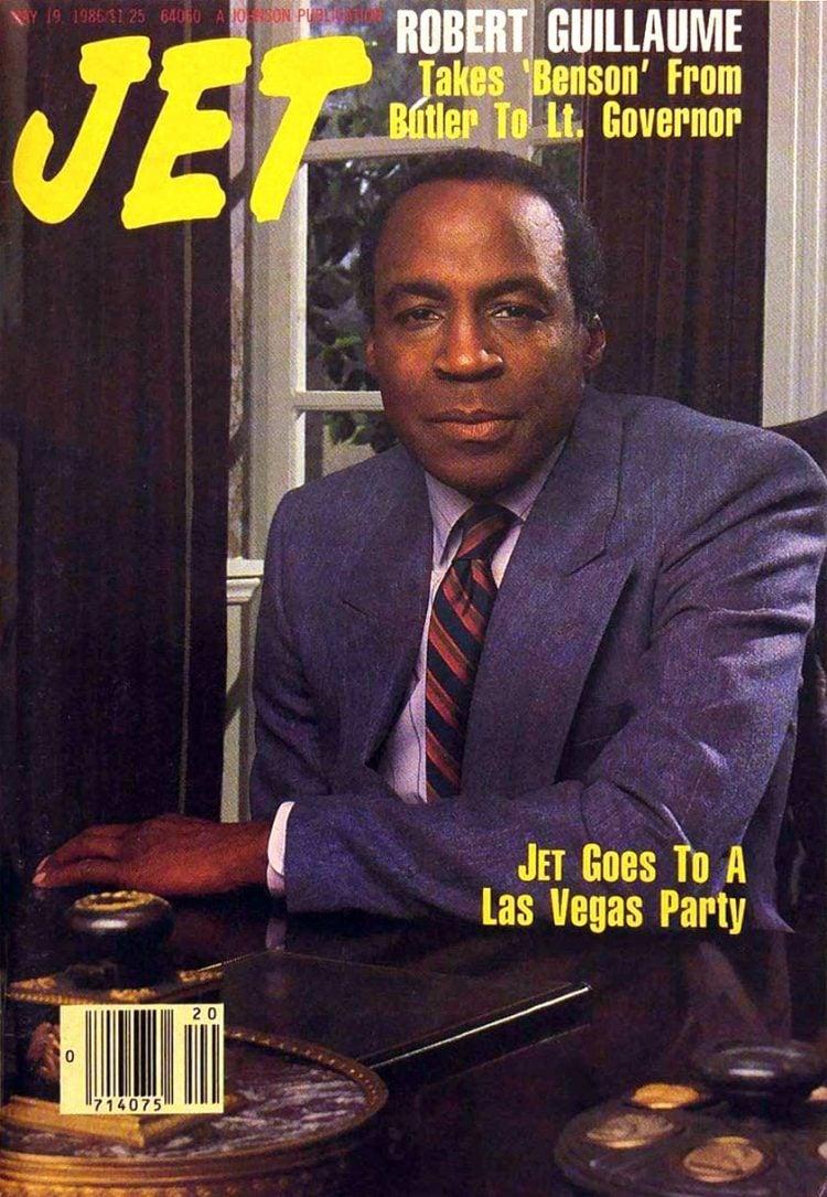 Robert Guillaume Jet magazine cover 1986