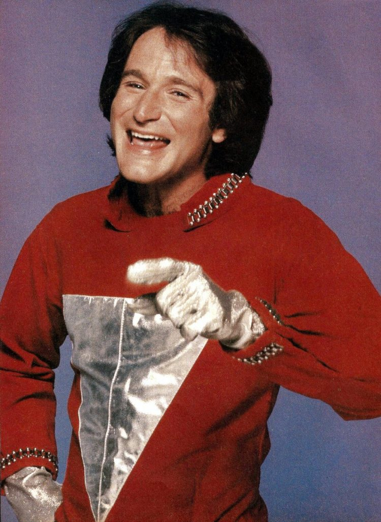 Robin Williams as Mork from Ork