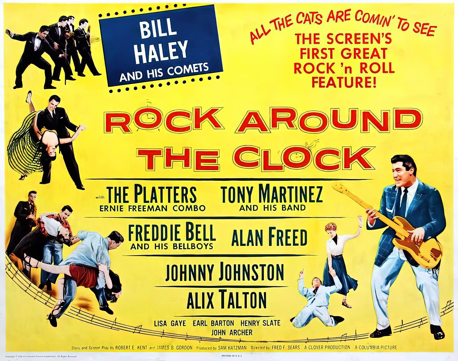 Rock Around the Clock starring Bill Haley & His Comets