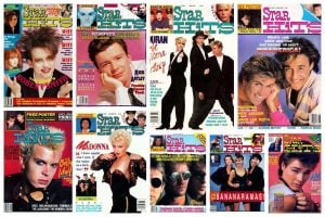 Rock out with these old Star Hits magazine covers from the 80s