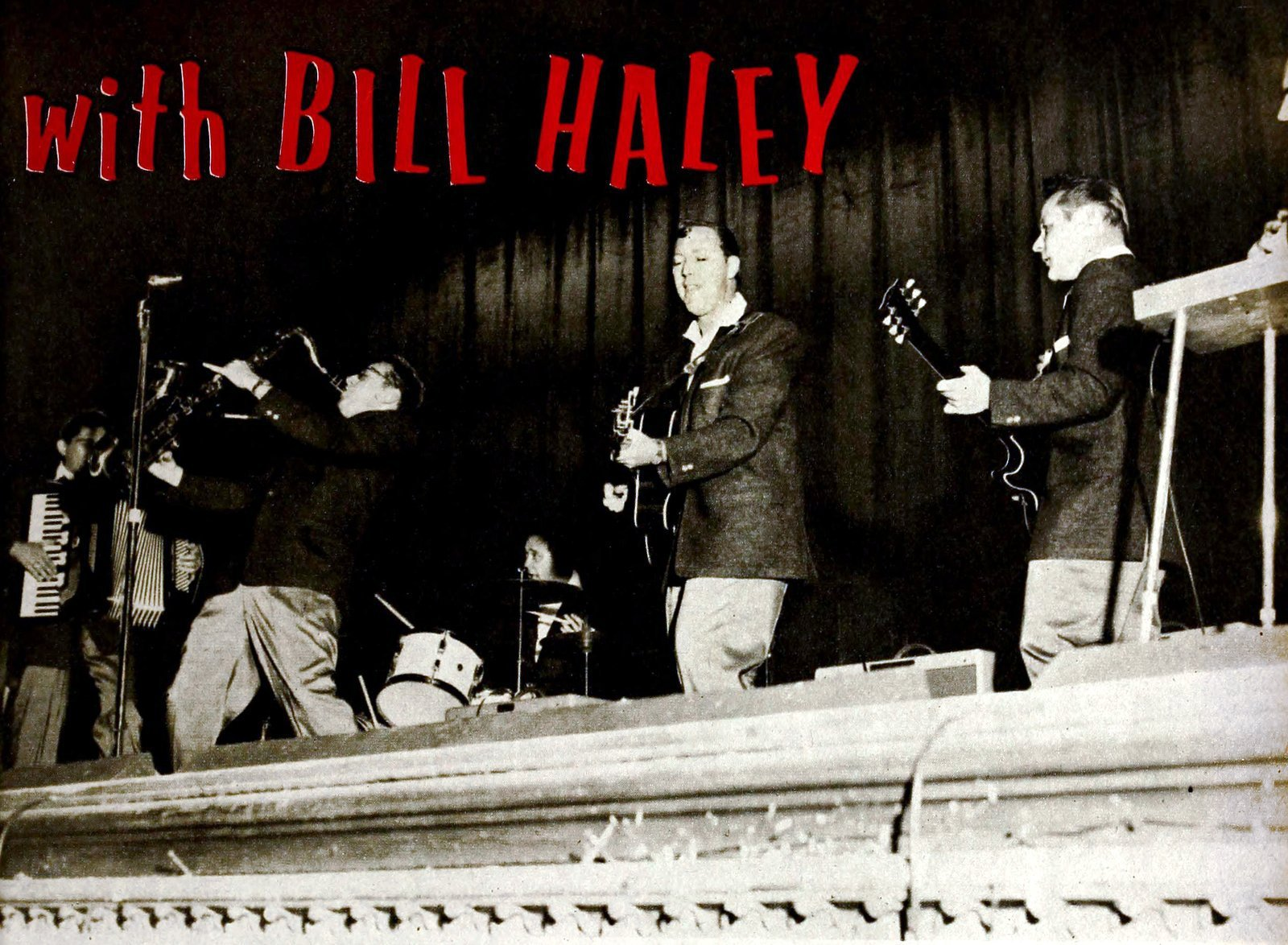 Rocking around with Bill Haley - 1957 (1)