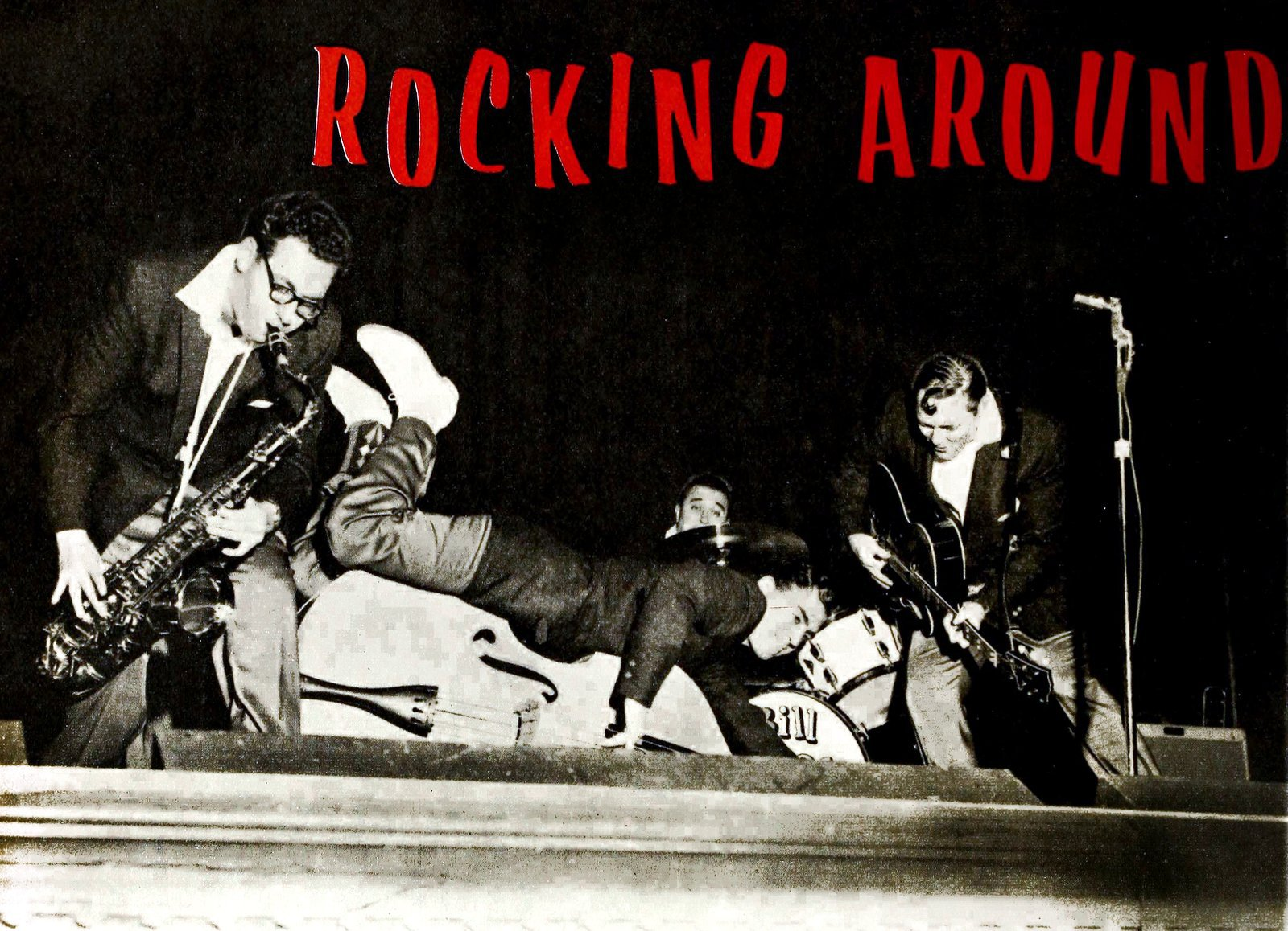 Rocking around with Bill Haley - 1957 (2)