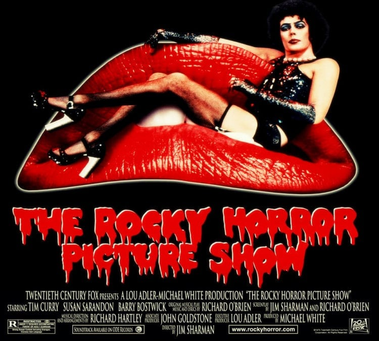 Rocky Horror Picture Show - movie ad