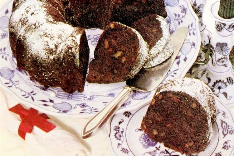 Rocky road cake recipe from the 1980s