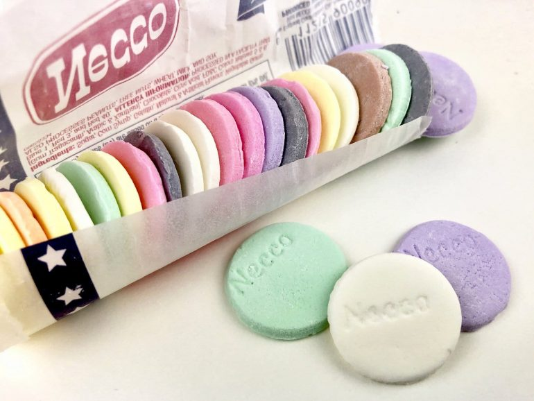 Roll of Necco Wafers - old-fashioned candy
