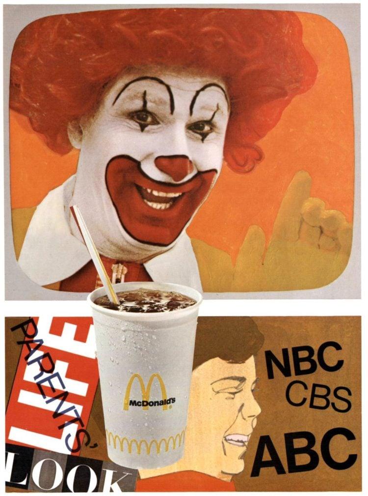 Ronald McDonald in 1969