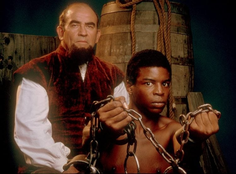Roots TV miniseries about slavery - 1977
