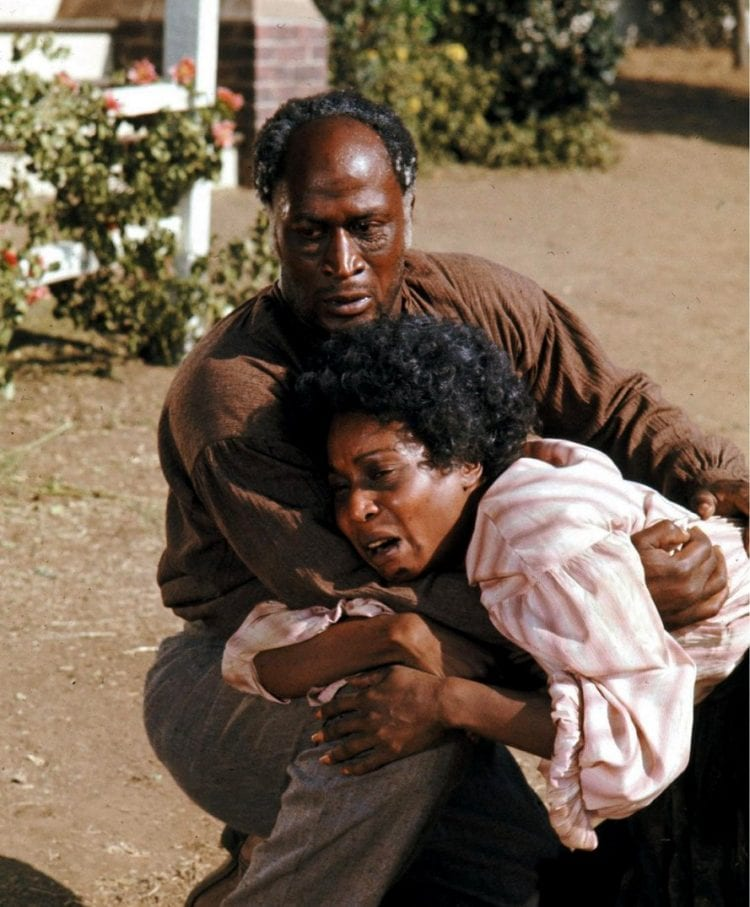 Madge Sinclair & John Amos