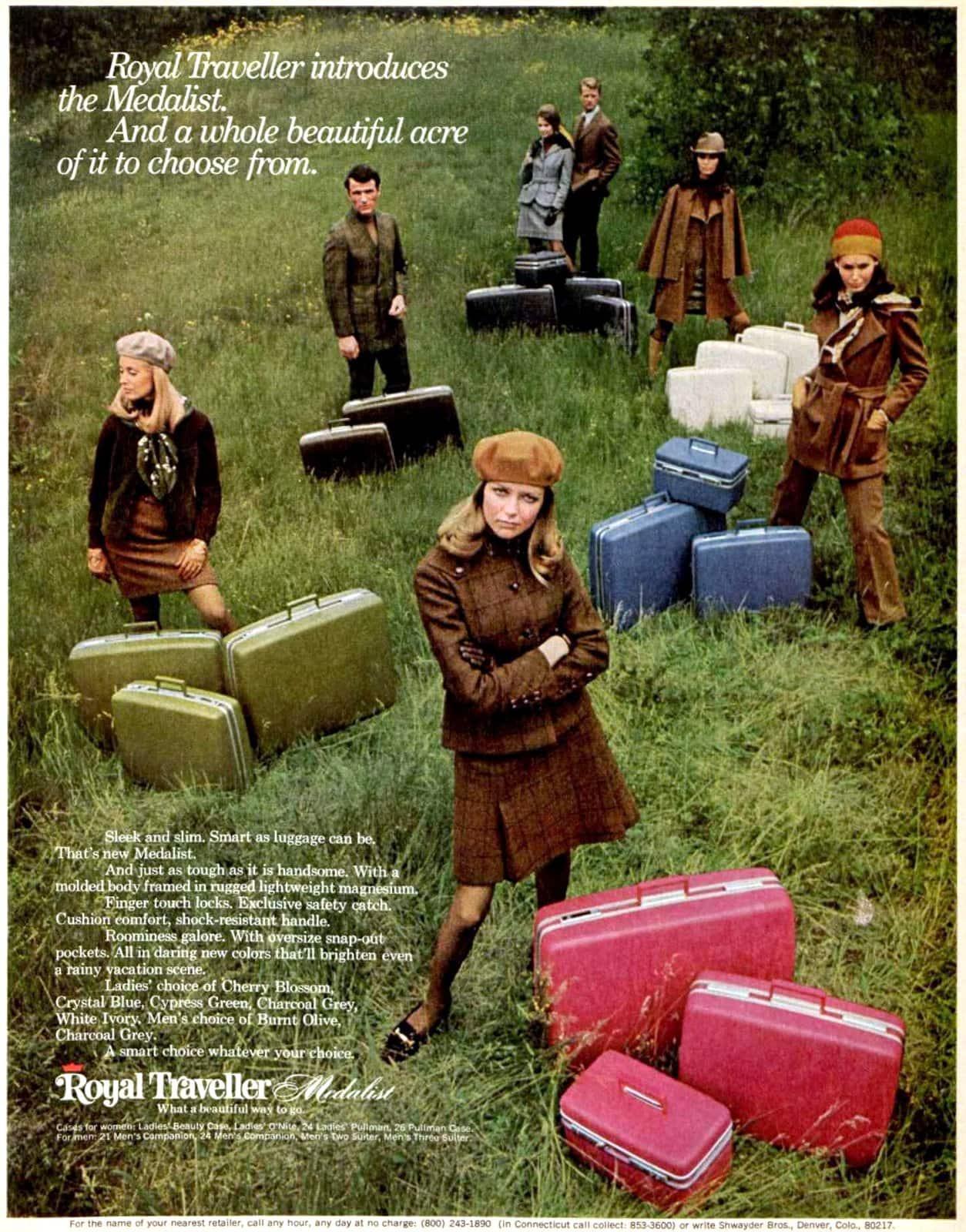 Royal Traveller luggage (1968)