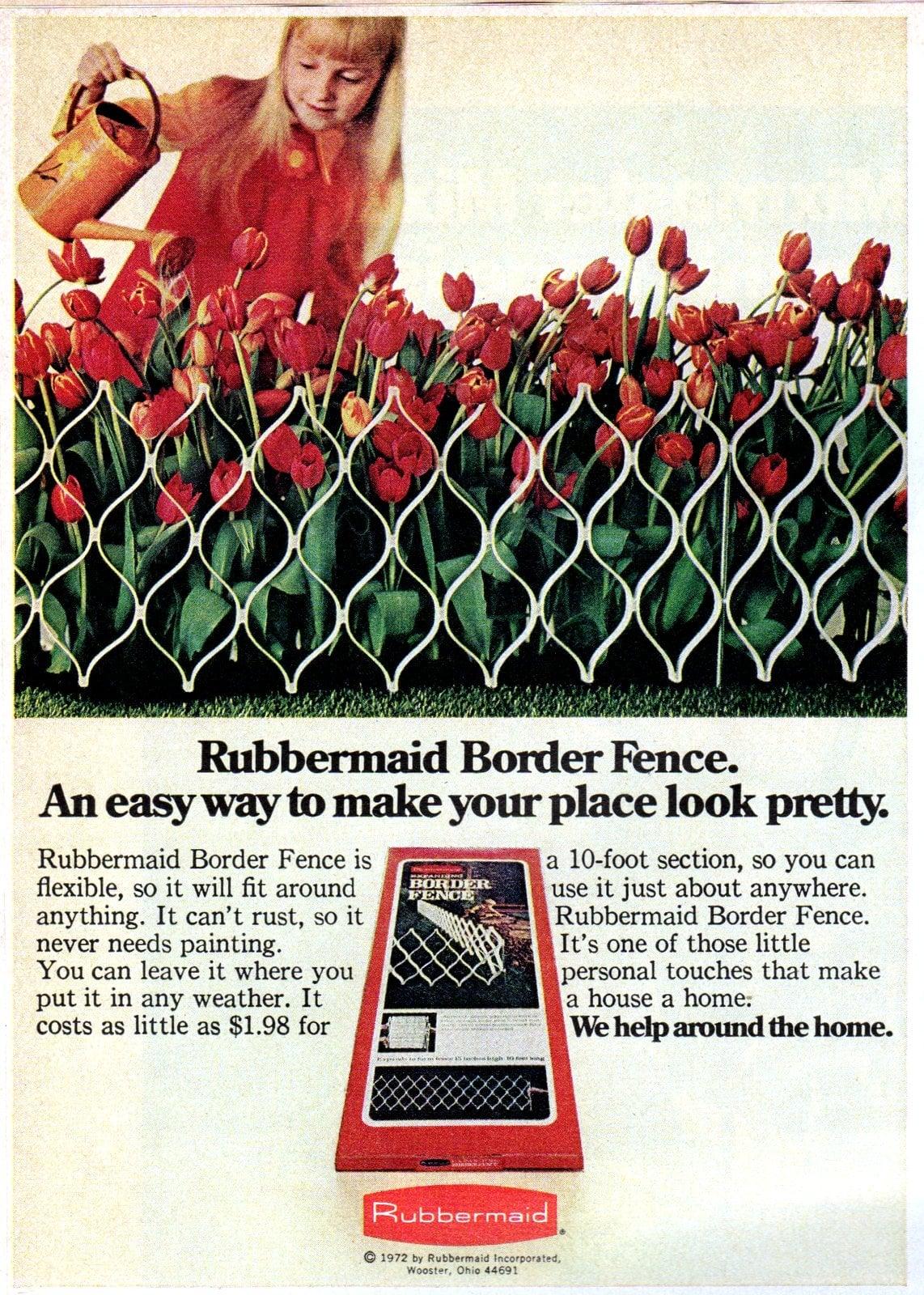 Rubbermaid Border Fence (1972)