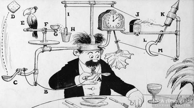 Rube Goldberg in his own words (1922)