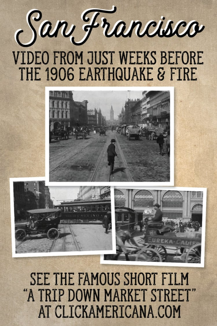 SF before 1906 earthquake fire