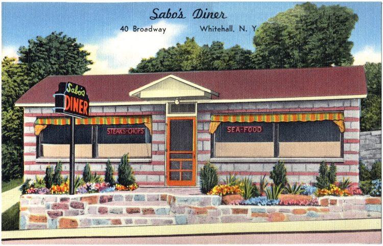 Sabo's Diner, 40 Broadway, Whitehall, N. Y.