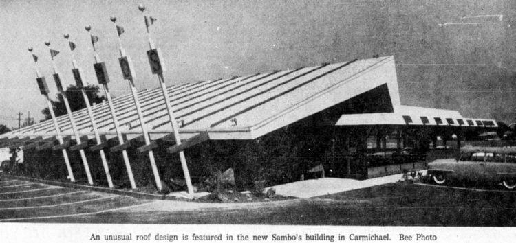 Sacramento Sambo's opened in 1961