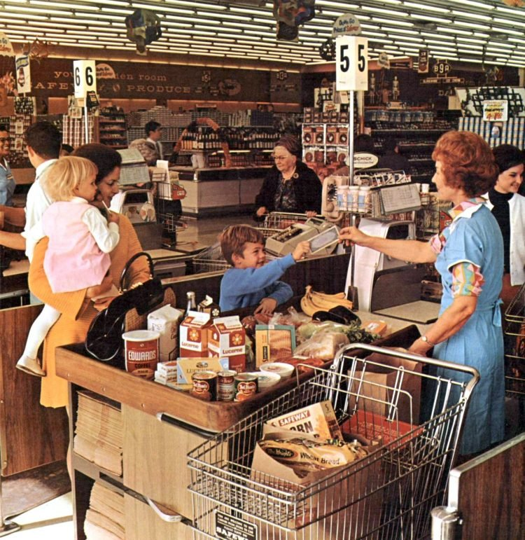Safeway old grocery store - 1968 2