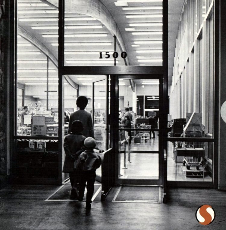 Safeway retro grocery store - 1964