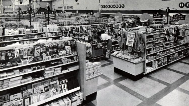 Safeway vintage grocery store - 1961 10
