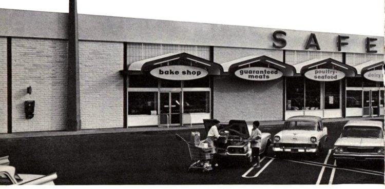 Safeway vintage grocery store - 1963 1