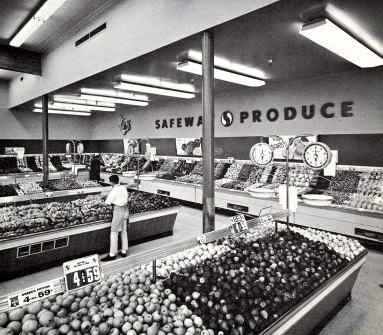 Safeway vintage grocery store - 1963 16