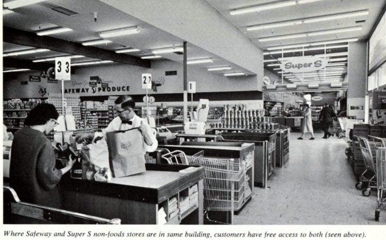 Safeway vintage grocery store - 1963 18