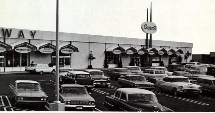 Safeway vintage grocery store - 1963 2