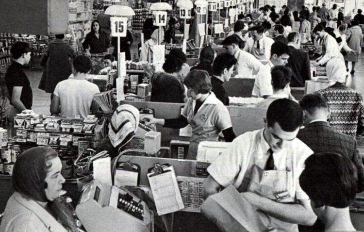 Safeway vintage grocery store - 1965 21