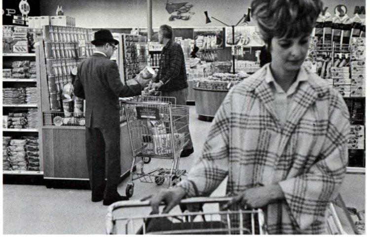 Safeway vintage grocery store - 1965 22