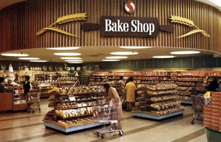 Safeway vintage grocery store - 1968 16